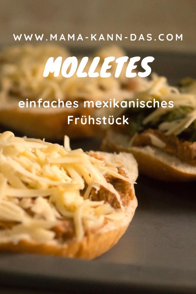 Molletes sind nicht nur ein leckeres Frühstück. Sie sind auch ein schnelles Mittag- oder Abendessen.