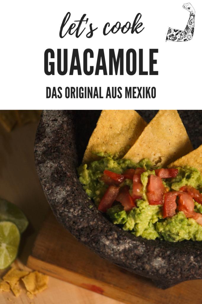Eine original Guacamole braucht nicht viele Zutaten.
