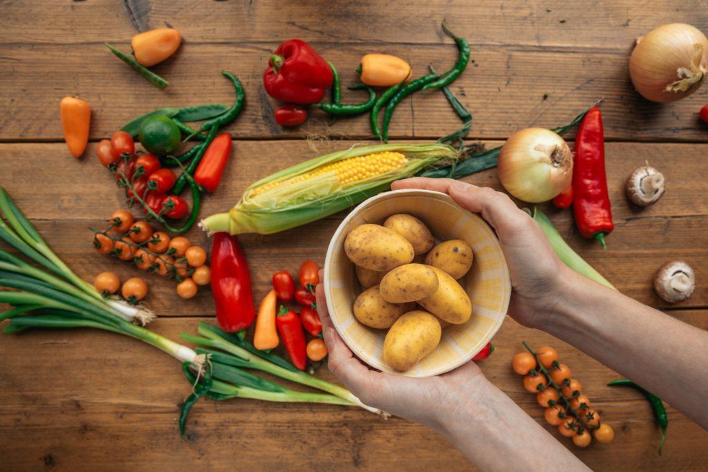 Gemüsestrudel ist vegetarisch und gesund