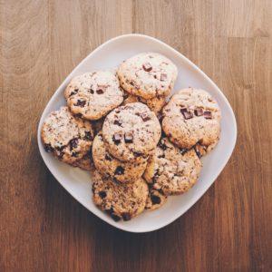 Cookies von der Rolle – ein Schoko-Traum