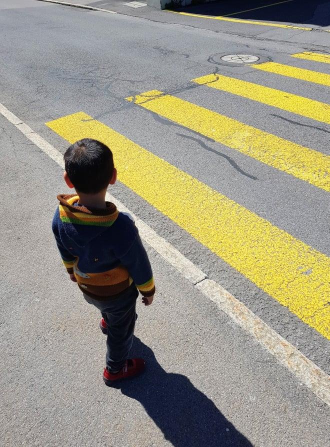 Rad steht - Kind geht. Für die Sicherheit unserer Kinder.
